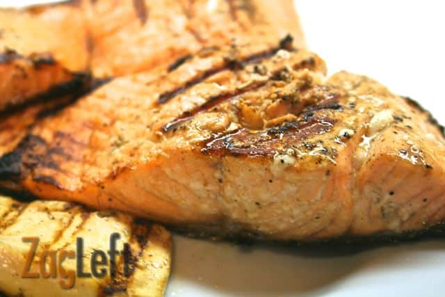 Grilled Limoncello Salmon from Zagleft d