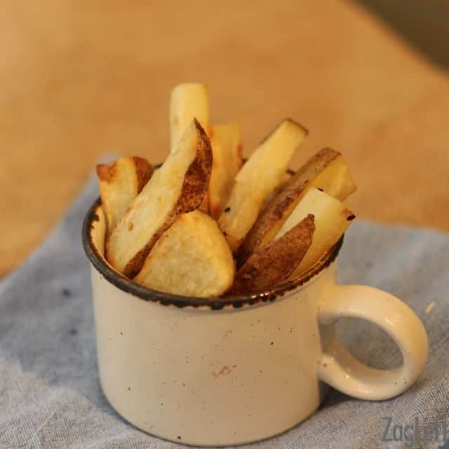 How to make toaster oven french fries - ZagLeft