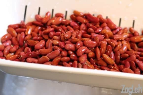 How To Quick Soak Beans from ZagLeft