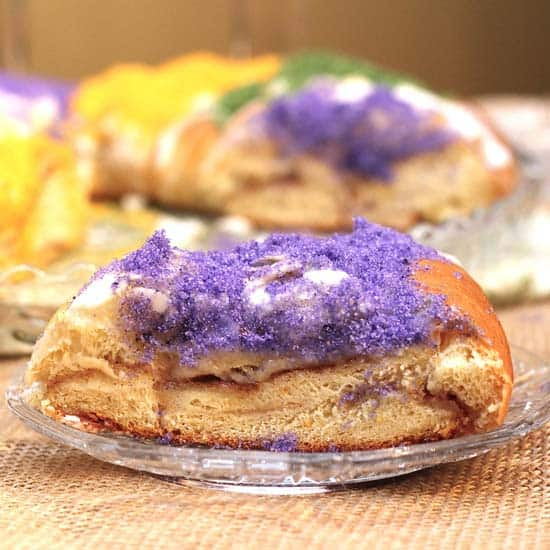 Traditional Mardi Gras King Cake Recipe | www.zagleft.com