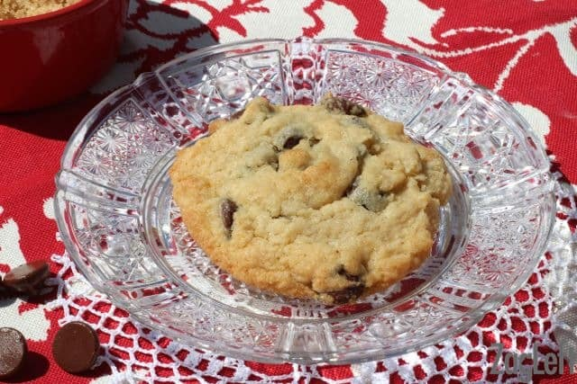 Single Chocolate Chip Cookie Recipe from ZagLeft